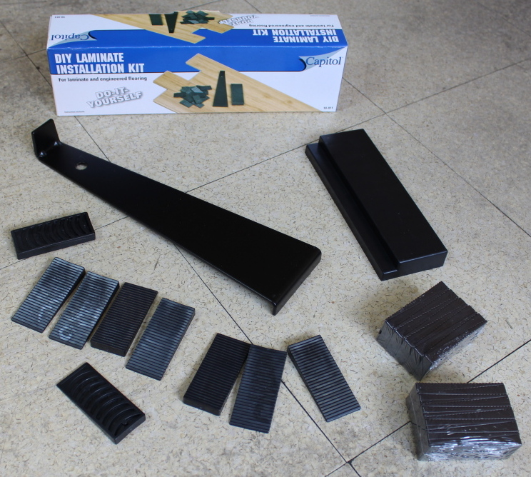 Laminate Floor Installation Kit for laminate and hardwood flooring make your installation easier with this installation kit our Off The Shelf Engineered Flooring Laminate Flooring Kit