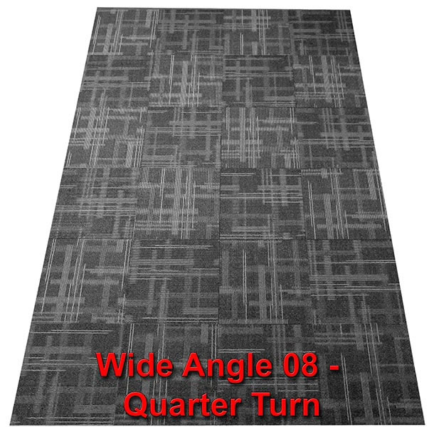 wide angle 08 dark charcoal black pattern